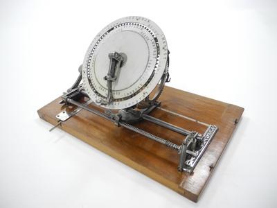 Rehmann Diskret Schreibmaschine