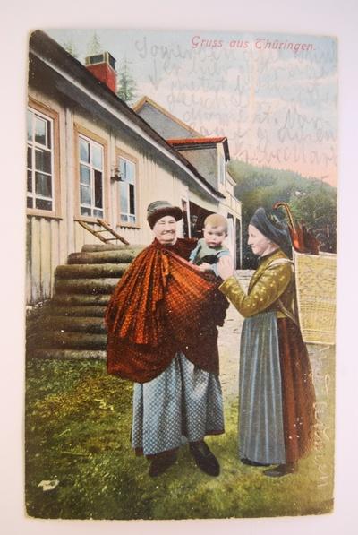 Gruss aus Thüringen (Hockmantel)