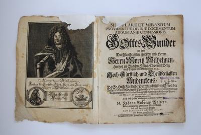 Singulare et mirandum providentiae divinae documentum Augustanae confessionis