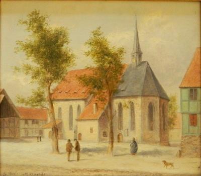 Die ehemalige Claus- oder Nicolaikirche zu Wernigerode