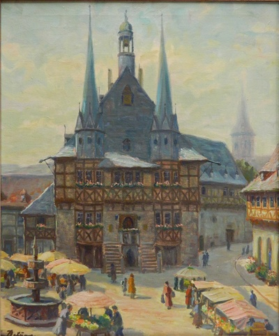 Markt und Rathaus Wernigerode