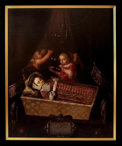 Totenbildnis des Prinzen Johann Georg von Sachsen-Zeitz (1665-1666)