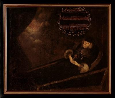 Totenbildnis der Kurfürstin Magdalena Sybilla von Sachsen (1586-1659)