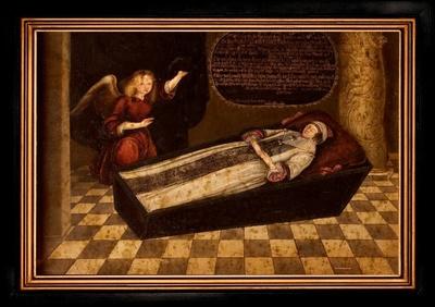Totenbildnis der Herzogin Magdalena Sybilla von Sachsen-Altenburg (1617-1668)