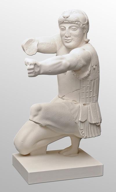 Herakles vom Ostgiebel des Aphaiatempels von Aigina