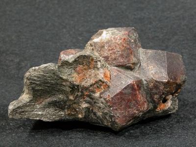 Almandin-Kkristalle