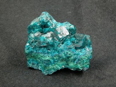 Dioptas-Kristalle