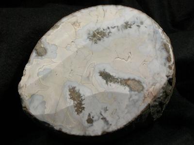Chalcedon mit Porzellan-Jaspis