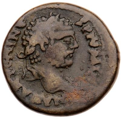 Büste des Kaisers Caracalla / trunkener Marsyas