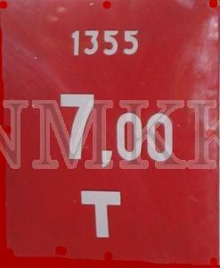 Ugunsdzēsības hidranta apzīmējuma plāksnīte