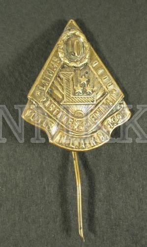 Latvijas 10 gadu pastāvēš. piemiņai 1918.-1928. N.L.A.K.B.
