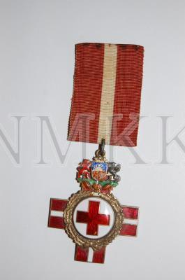 Goda zīme, Latvijas Sarkanā Krusta, II šķira ; Goda zīme, Latvijas Sarkanā Krusta, II šķira
