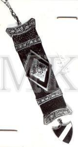 BRELOKS , piederējis Latvijas armijas 9.Rēzeknes kājnieku pulka kareivim Kārlim Stīpniekam ; BRELOKS, piederējis Latvijas armijas 9.Rēzeknes kājnieku pulka kareivim Kārlim Stīpniekam