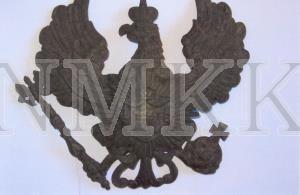 Ģerbonis prūšu parauga ( Helmewappen ), vācu armijas 91. Oldenburgas kājnieku pulka ( Oldenburgisches Infanterieregiment Nr. 91 ) karavīru bruņu cepures (aizsargķiveres) ; Ģerbonis prūšu parauga ( Helmewappen ), vācu armijas 91. Oldenburgas kājnieku pulka ( Oldenburgisches Infanterieregiment Nr. 91 ) karavīru bruņu cepures (aizsargķiveres)