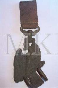 Āķis, uzkabes, bungām ( Trommelschere ) vācu armijas karavīru; Āķis, uzkabes, bungām ( Trommelschere ) vācu armijas karavīru