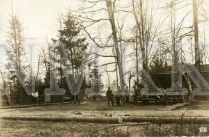 ATKLĀTNE: Vācijas armijas karavīri Cīganes nometnē pie Remtes stacijas, Latvija; ATKLĀTNE: Vācijas armijas karavīri Cīganes nometnē pie Remtes stacijas, Latvija