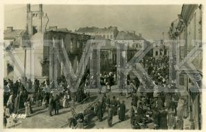 ATKLĀTNE: Civiliedzīvotāji tirgus dienā kādā no Galīcijas pilsētām, Austrumu fronte ; ATKLĀTNE: Civiliedzīvotāji tirgus dienā kādā no Galīcijas pilsētām, Austrumu fronte