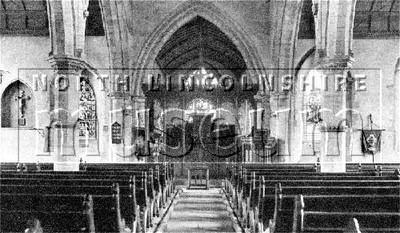All Saints' Church interior, Winterton