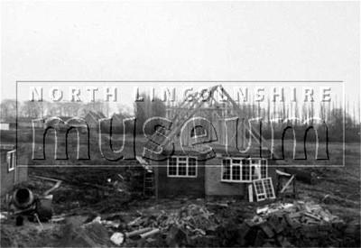 York House, Somerset Drive, Burton-upon-Stather, under construction c.1971