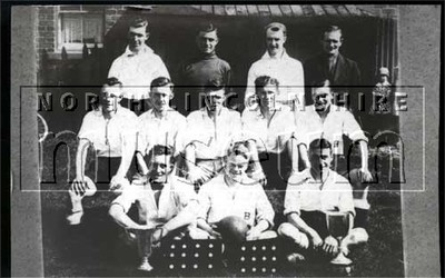 Barnetby Football Club, West League Wold Cup winners, season 1935-36