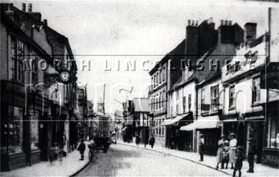 Wrawby Street, Brigg looking west c.1920