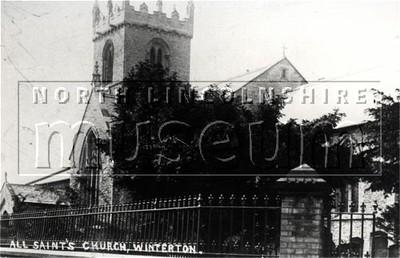 All Saint's Parish church, Winterton, looking south east