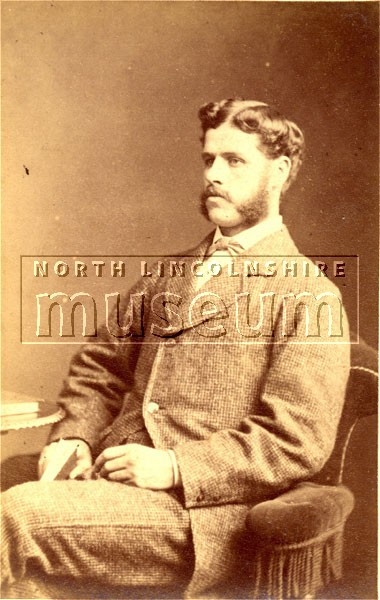 Ben Hewitt of Scunthorpe taken in 1876