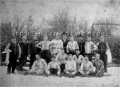 Brigg football team c.1890