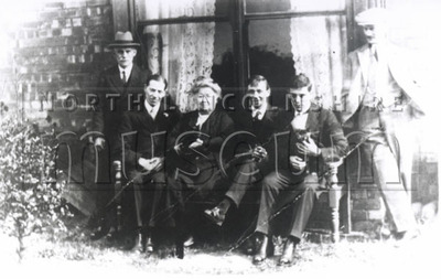The Shadlock family of Scunthorpe taken in the 1930's