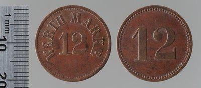 Werthmarke 12 : Monnaies de guerre