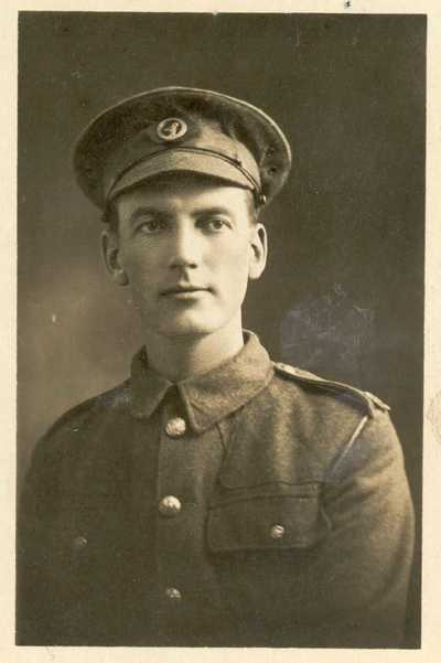 Photograph of Private Harry Bowman Jackson