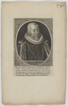 Bildnis des Philippvs Lvdovicvs, Pfalzgraf zu Neuburg