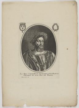 Bildnis des Francois I., König von Frankreich