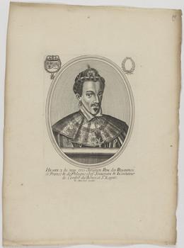 Bildnis des Henry III., König von Frankreich