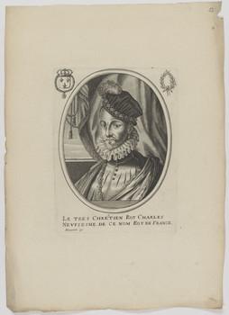 Bildnis des Charles IX., König von Frankreich