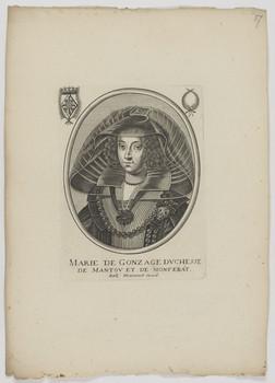 Bildnis der Marie de Gonzage, Herzogin von Mantua