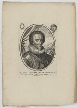 Bildnis des Francois de Bonne, Dvc de Lesdigvieres