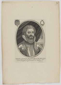 Bildnis des Philipes Emanvel de Lorrayne de Mercvevr