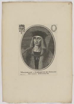 Bildnis des Maximilian I., römisch-deutscher Kaiser