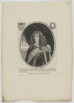 Bildnis des Tancrede de Rohan