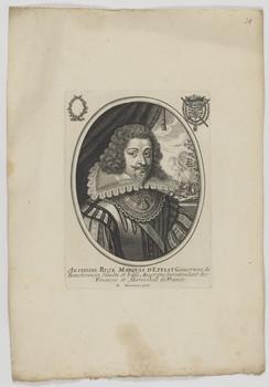 Bildnis des Anthoine Rvzé, Marqvis d'Effiat