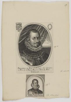 Bildnis des Philippes III., König von Spanien