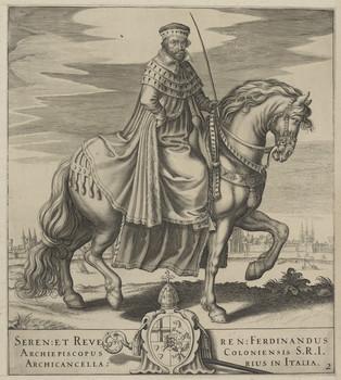 Bildnis des Ferdinandus, Erzbischof von Köln