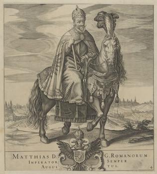 Bildnis des Matthias, römisch-deutscher Kaiser