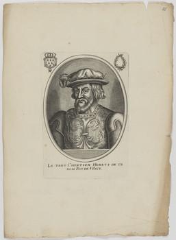 Bildnis des Henry I., König von Frankreich