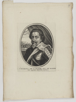 Bildnis des Charles de Loraine, Herzog von Mayenne