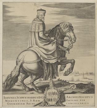 Bildnis des Ioannes Schwichardus