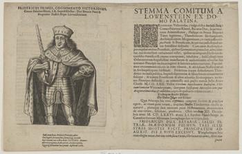 Bildnis des Fridericus I., Pfalzgraf und Kurfürst von der Pfalz
