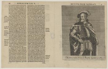 Bildnis des Franciscvs I., König von Frankreich