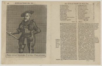 Bildnis des Philippus, Pfalzgraf zu Neuburg